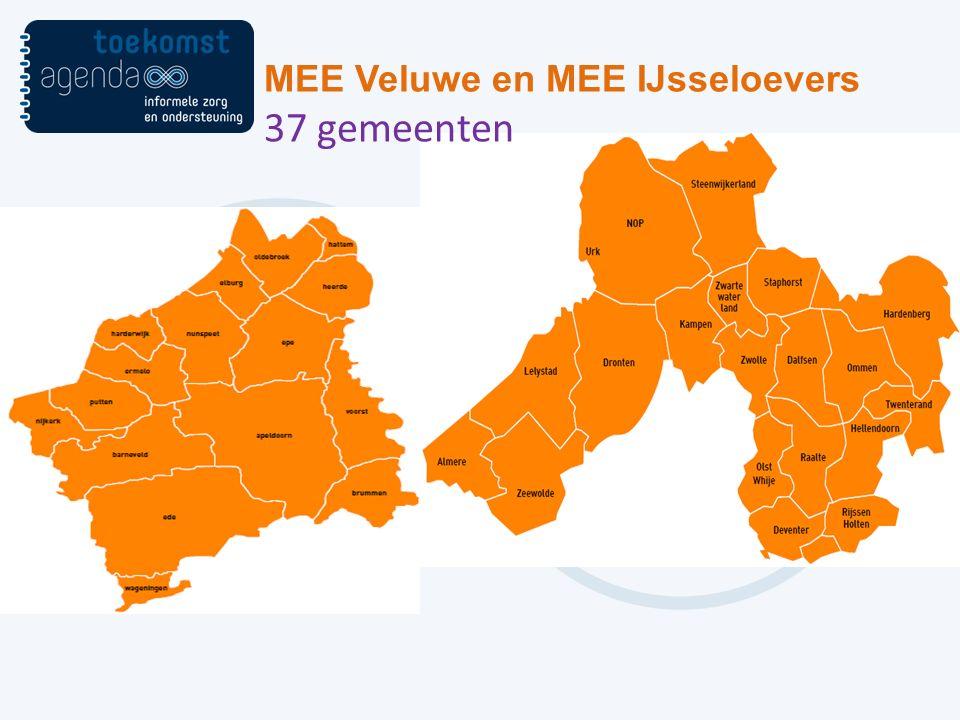 MEE Veluwe en MEE IJsseloevers 37 gemeenten
