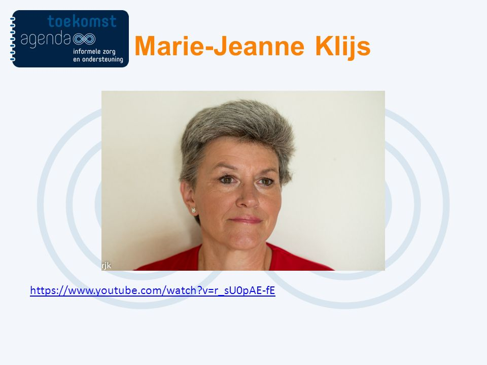 Marie-Jeanne Klijs https://www.youtube.com/watch v=r_sU0pAE-fE
