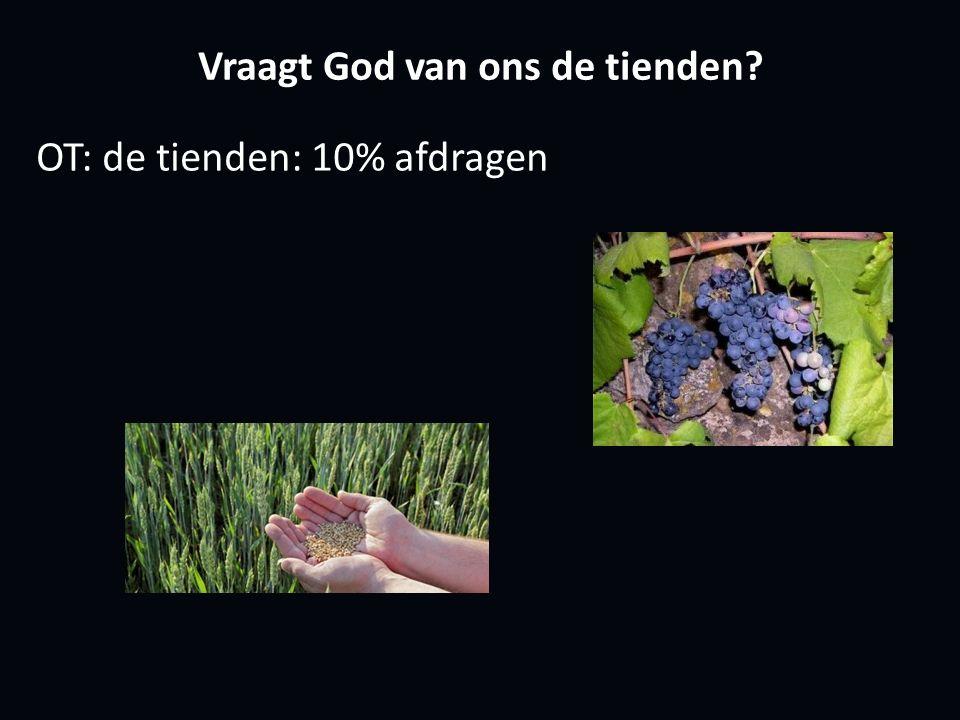 Vraagt God van ons de tienden OT: de tienden: 10% afdragen