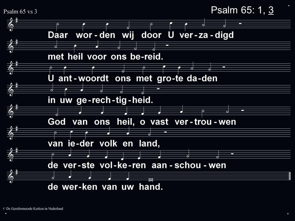 ... Psalm 112: 1, 3