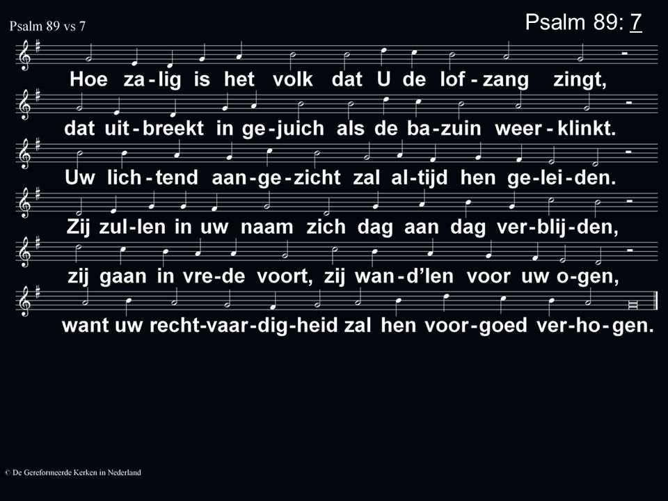 Psalm 89: 7