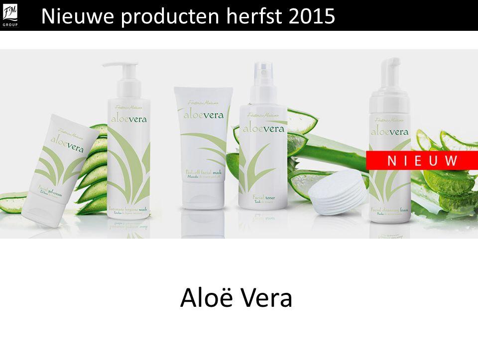 Aloë Vera Nieuwe producten herfst 2015