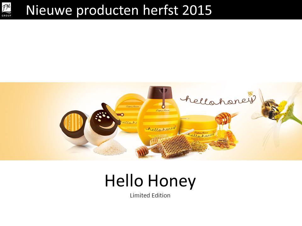 Hello Honey Limited Edition Nieuwe producten herfst 2015