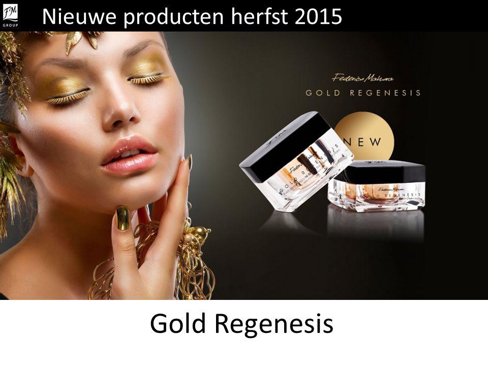 Gold Regenesis Nieuwe producten herfst 2015