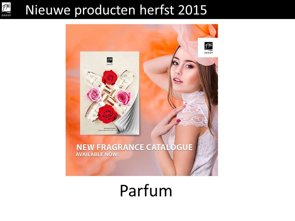 Parfum Nieuwe producten herfst 2015