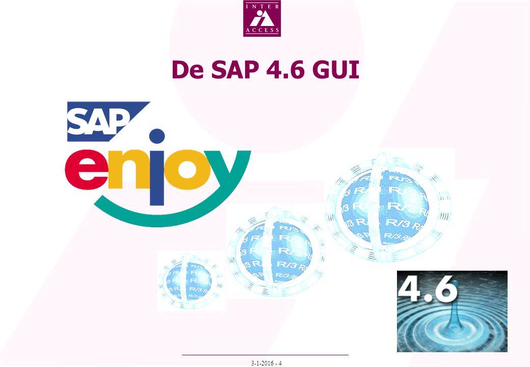 3-1-2016 - 4 De SAP 4.6 GUI