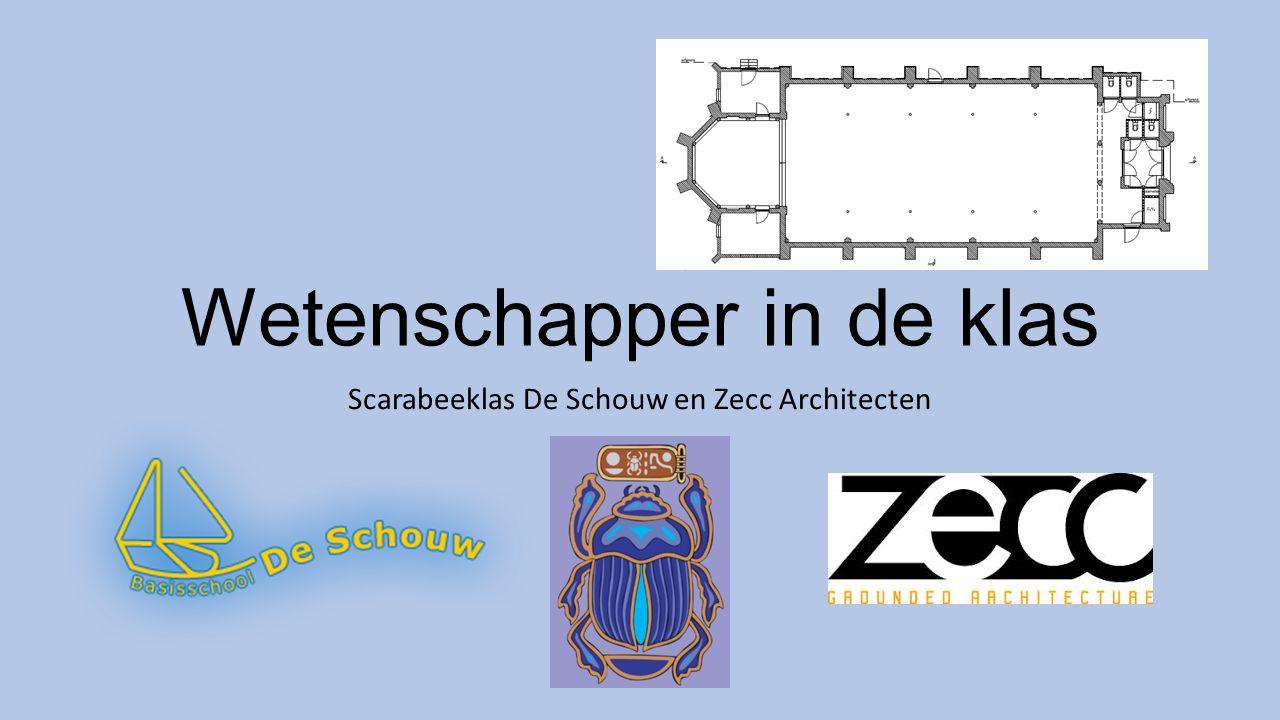 Wetenschapper in de klas Scarabeeklas De Schouw en Zecc Architecten