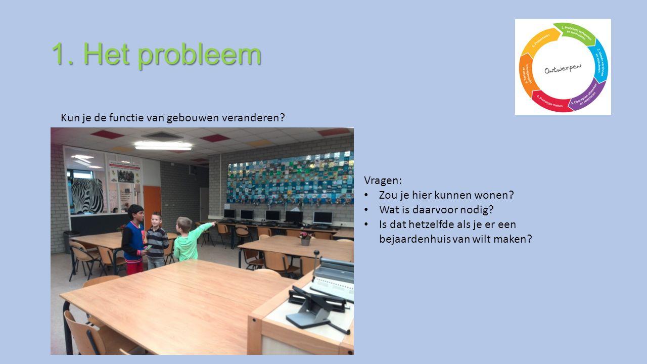1. Het probleem Kun je de functie van gebouwen veranderen.
