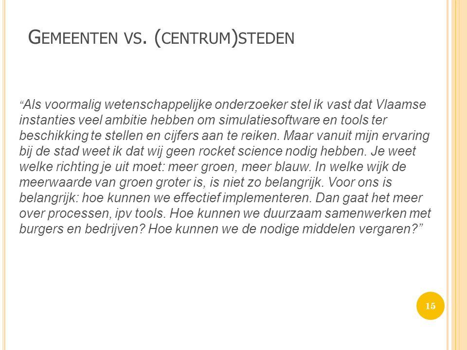 G EMEENTEN VS.