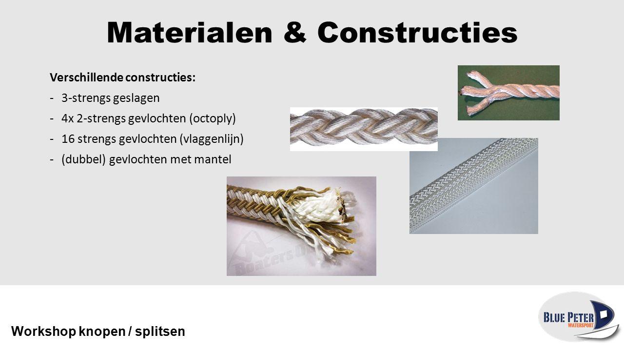 Handige knopen Workshop knopen / splitsen Paalsteek Gebruikt om een sterke lus / paaloog aan een lijn te maken.
