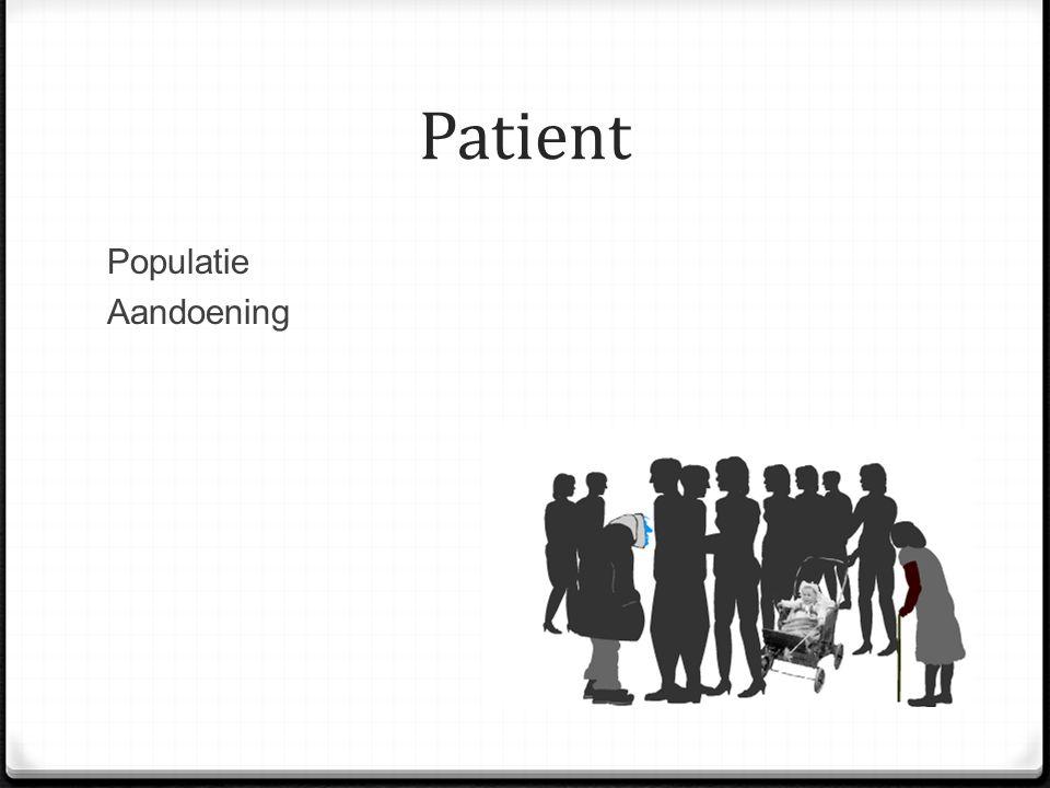 Patient Populatie Aandoening