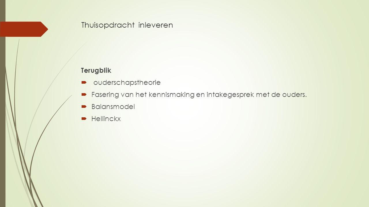 Artikelen  - Artikel Oplossingsgericht perspectief van Le Fevere deTen Hove.