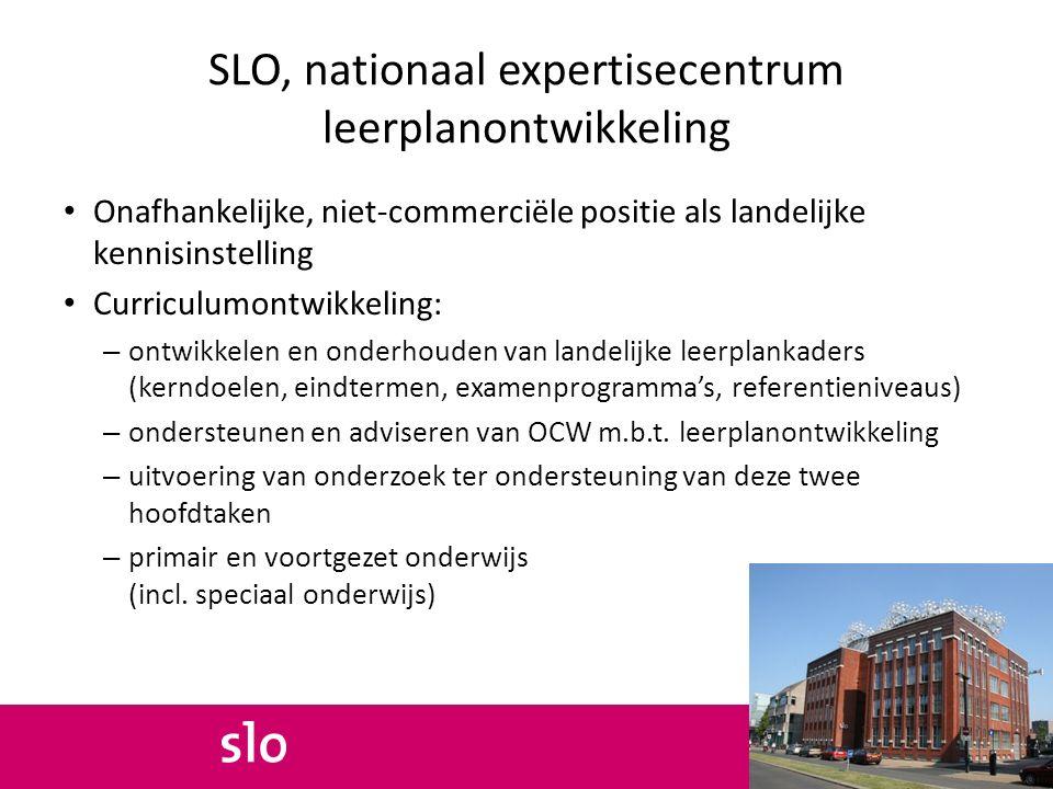 Leerplankaders De doelen en inhouden van het leren vormen de kerncomponenten van het leerplankader http://www.slo.nl/organisatie/overmissie/kerntaken/