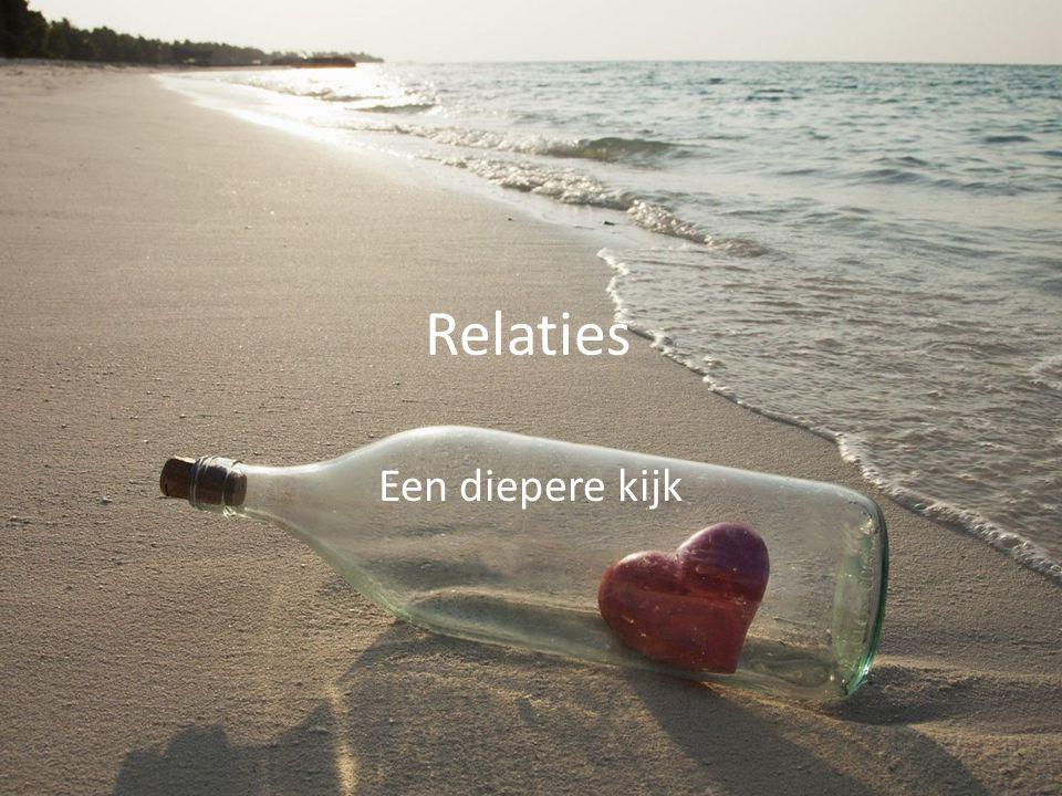 Relaties Een diepere kijk