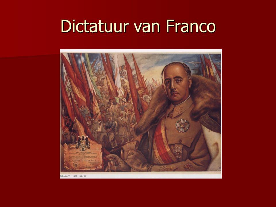 Dictatuur van Franco