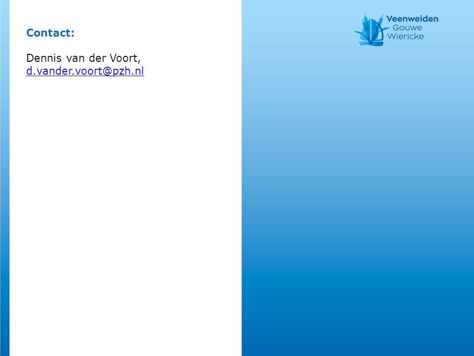 Contact: Dennis van der Voort, d.vander.voort@pzh.nl