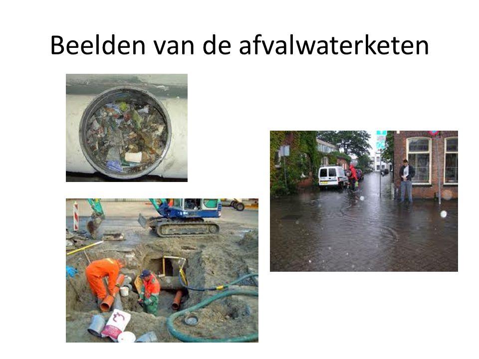 Beelden van de afvalwaterketen