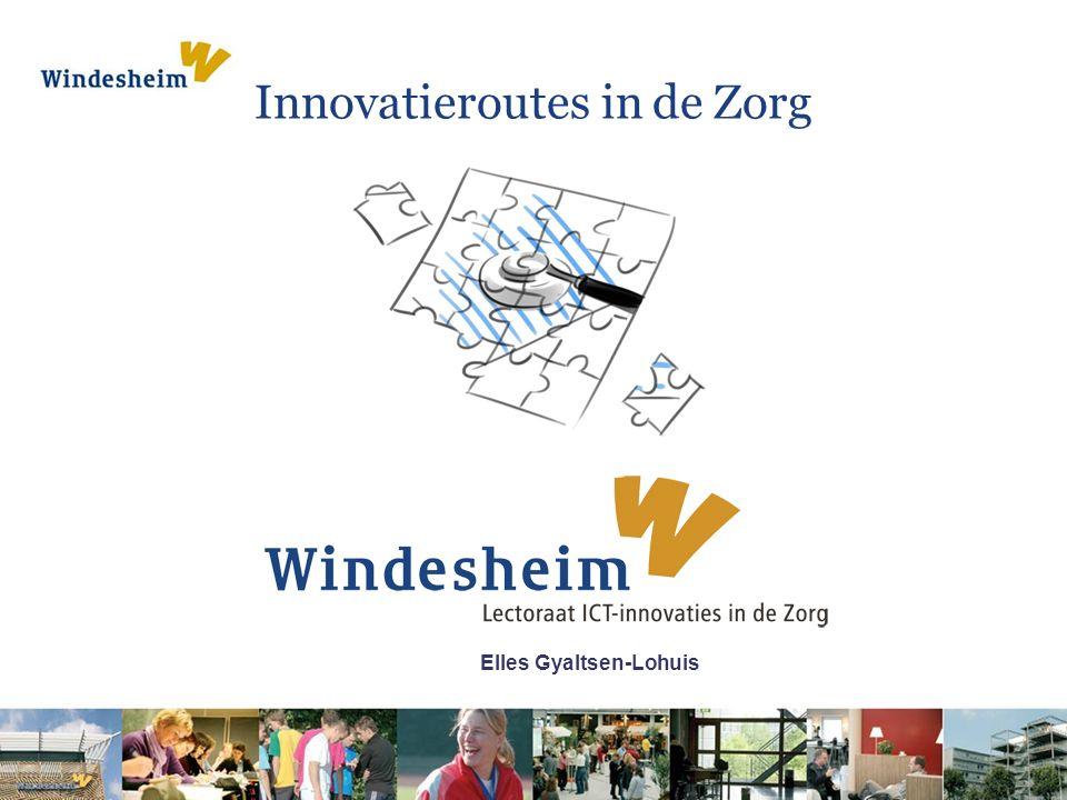 Elles Gyaltsen-Lohuis Innovatieroutes in de Zorg