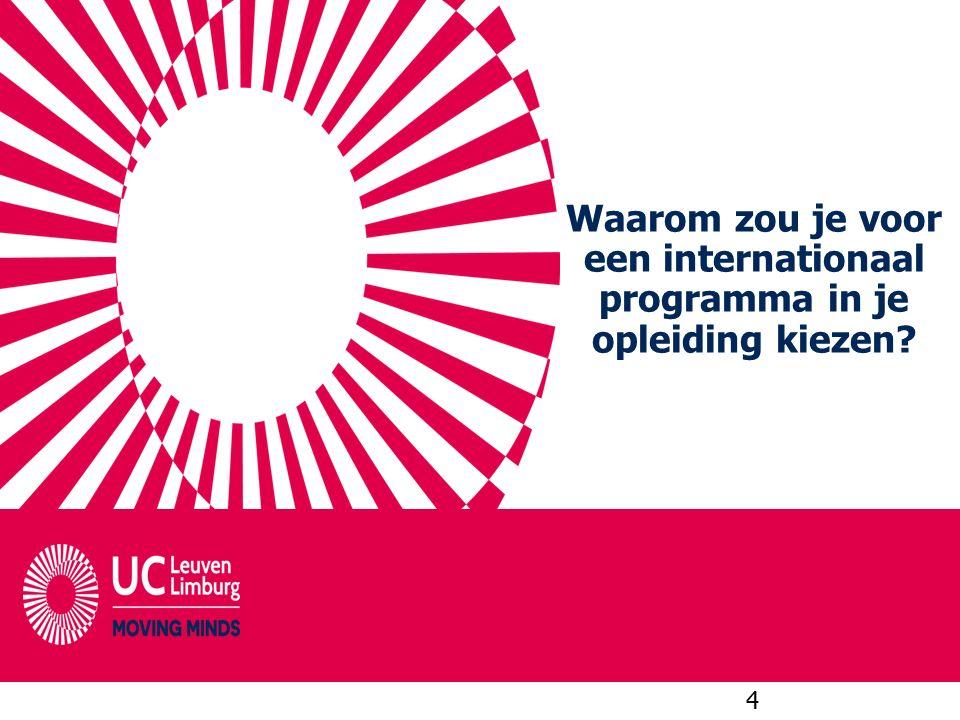 Waarom zou je voor een internationaal programma in je opleiding kiezen? 4