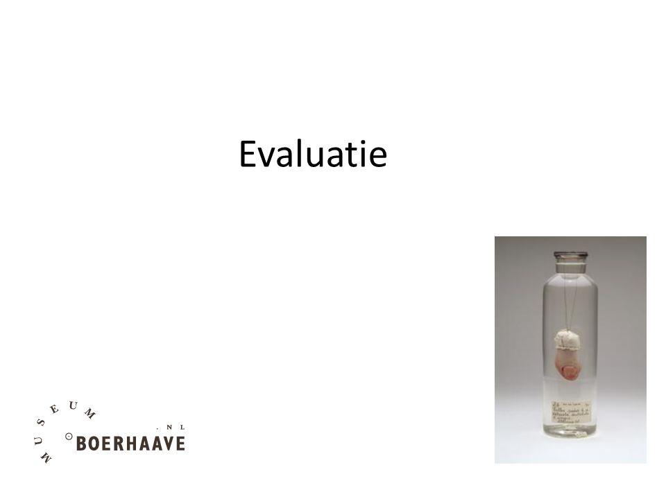 Evaluatie