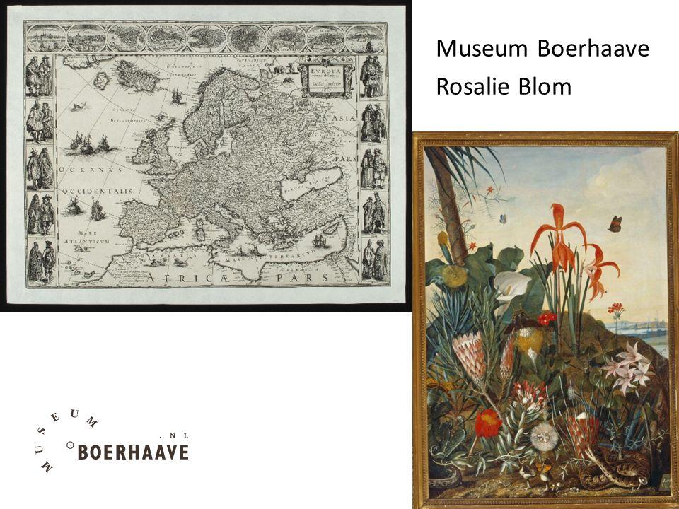Museum Boerhaave Rosalie Blom