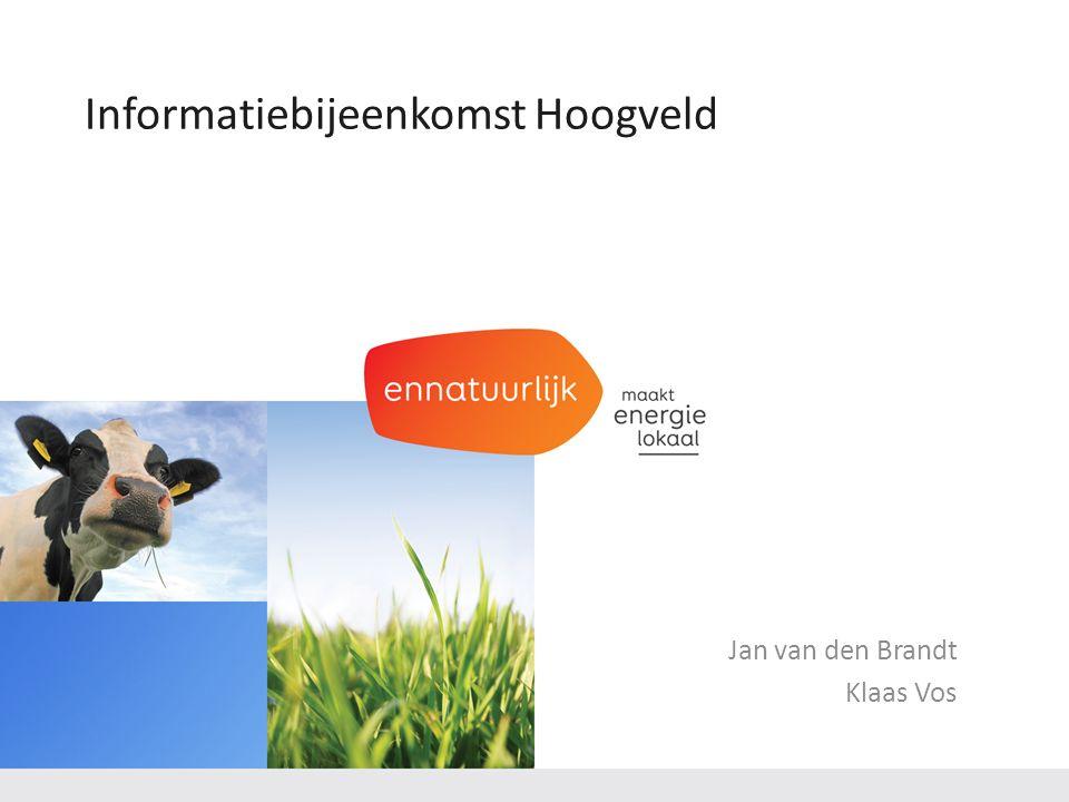 Jan van den Brandt Klaas Vos Informatiebijeenkomst Hoogveld
