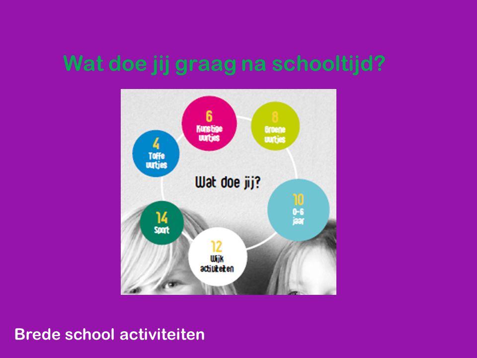 Jeugdactiviteiten IVN: h ttp://www.youtube.com/watch?v=yMyWU8nDUNc&feature=share Brede school activiteiten