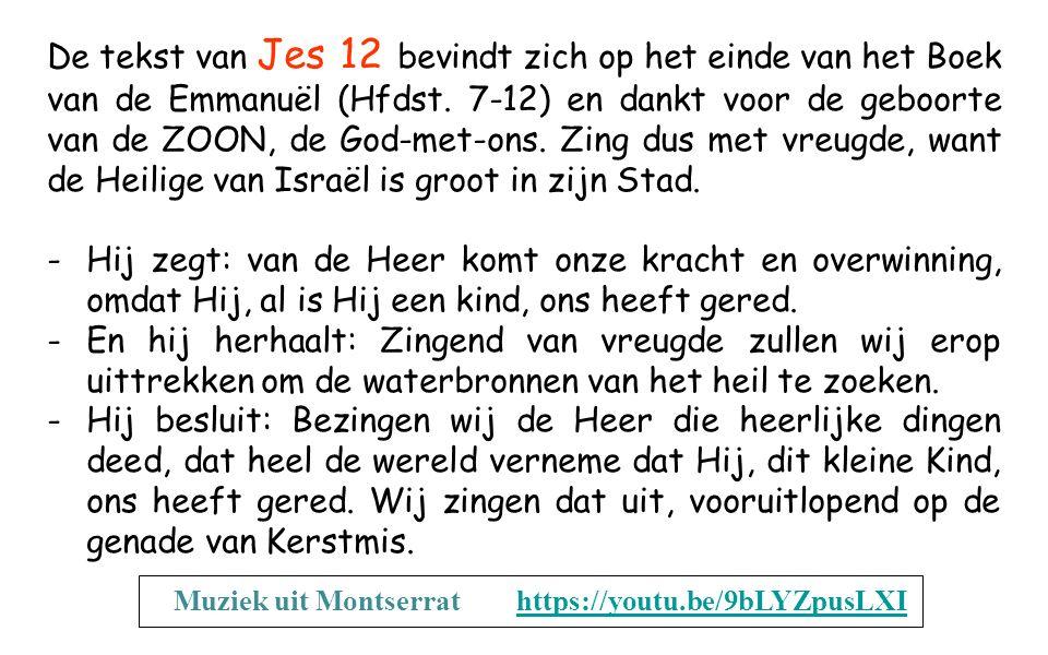 Sef 3,14-18a Sion, jubel van vreugde, juich, Israël, verheug u en wees blij, Jeruzalem, met heel uw hart! Het vonnis dat op u drukte, werd door de Hee