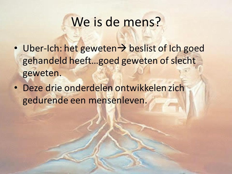 We is de mens.
