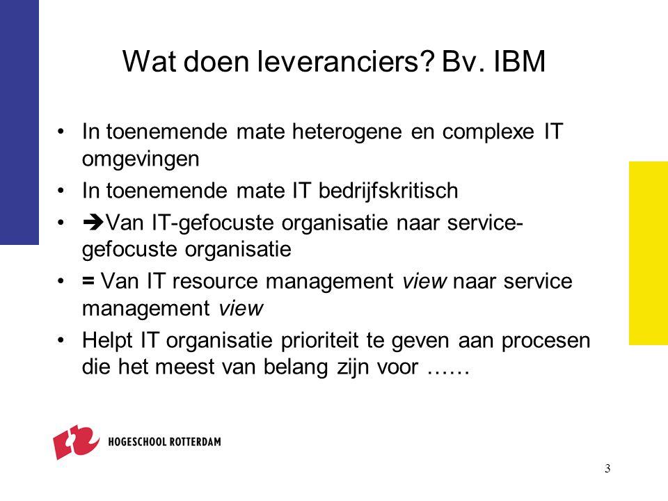 4 Service Level Management (SLM) - Hoofdstappen in aanpak Plannen SLM Implementeren SLM Bijhouden informatie m.b.t.