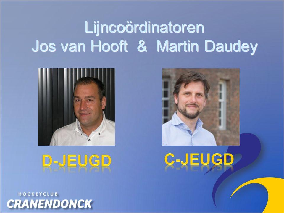Lijncoördinatoren Jos van Hooft & Martin Daudey