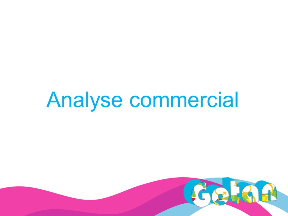 Analyse commercial