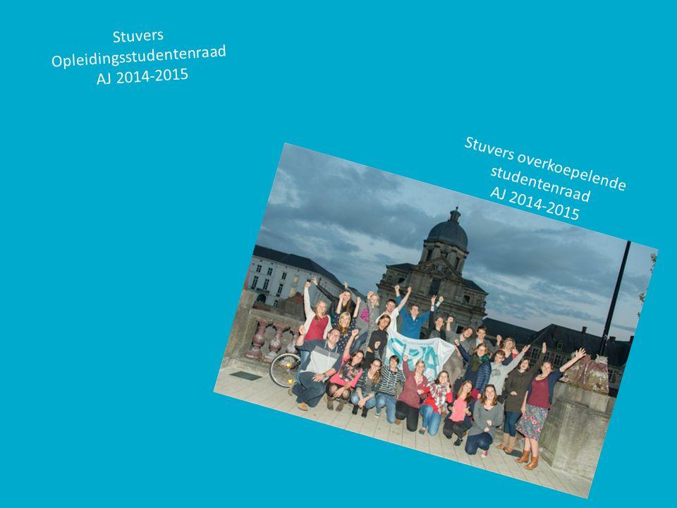 Stuvers overkoepelende studentenraad AJ 2014-2015 Stuvers Opleidingsstudentenraad AJ 2014-2015