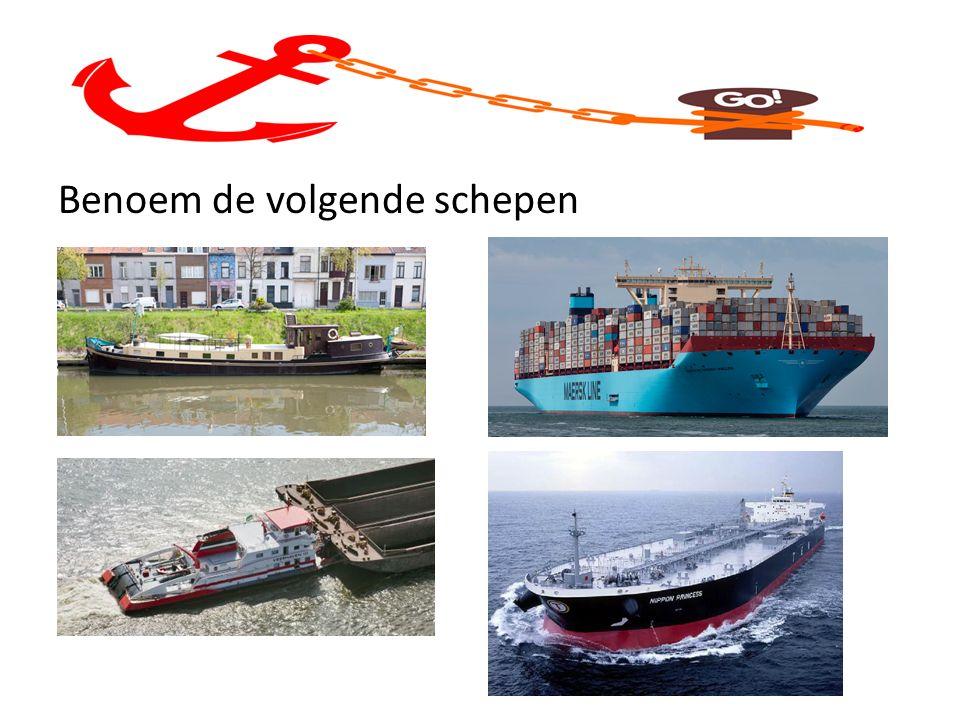 Benoem de volgende schepen