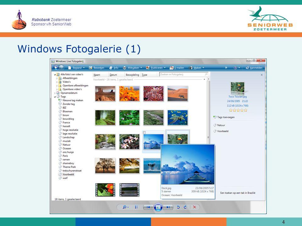 Rabobank Zoetermeer Sponsor v/h SeniorWeb Windows Fotogalerie (2) 5