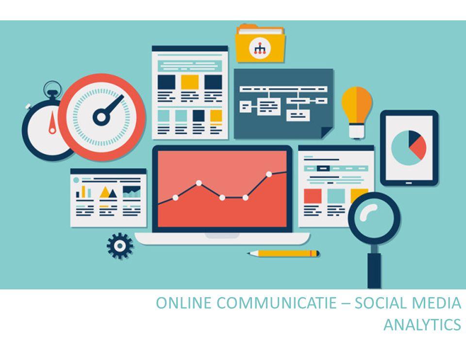 WAT DOEN DE BEZOEKERS OP MIJN WEBSITE? 82 ONLINE COMMUNICATIE – SOCIAL MEDIA: ANALYTICS