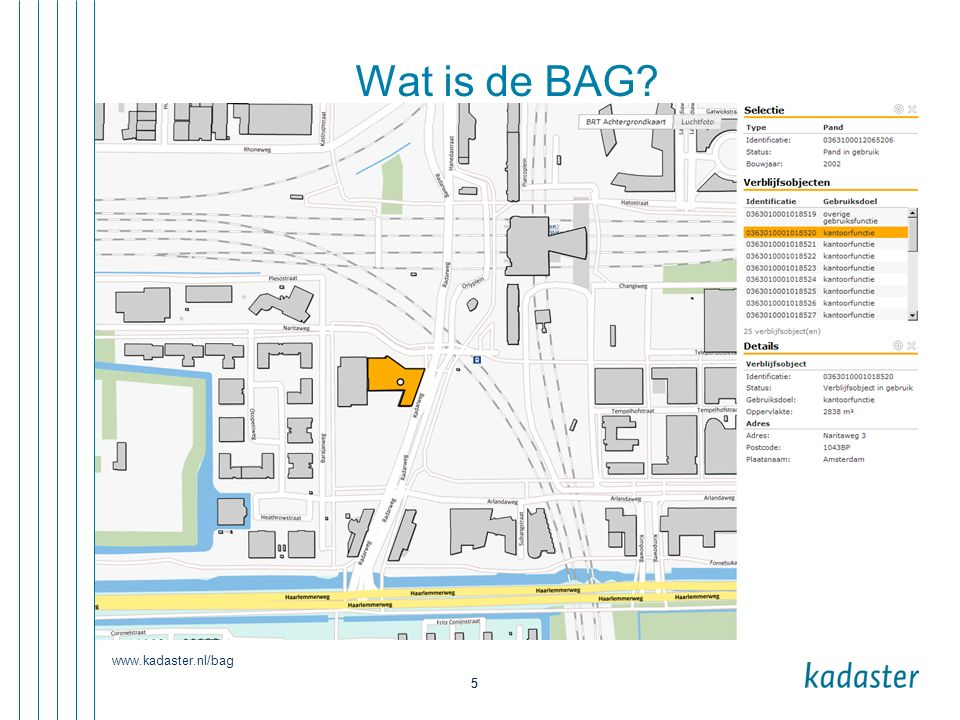 5 5 Wat is de BAG?