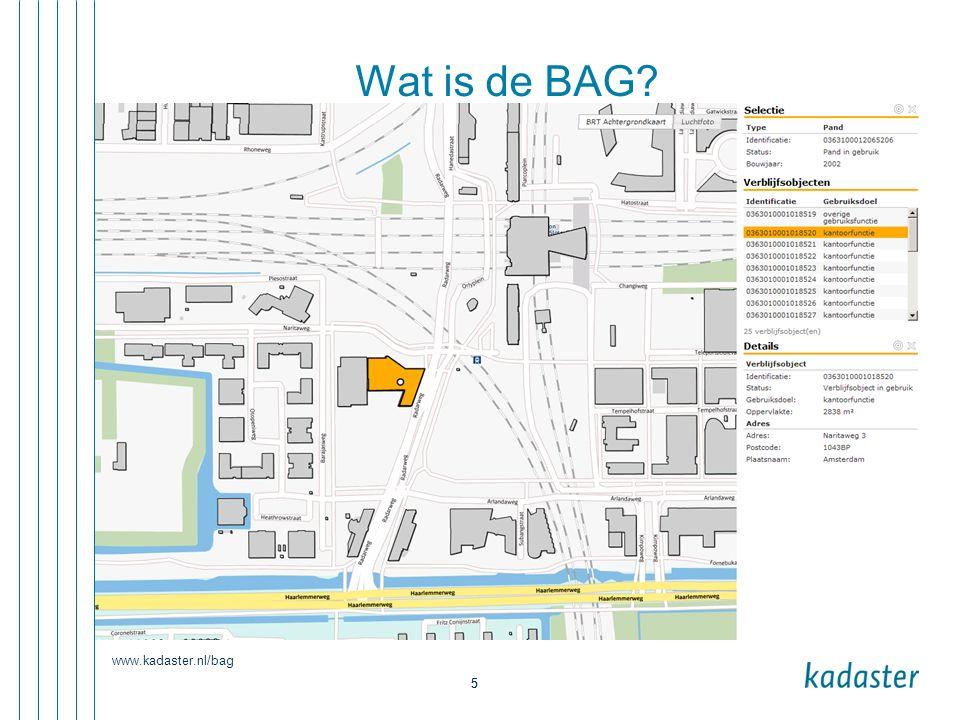 www.kadaster.nl/bag 6 5-1-2016 6 Filmpje De BAG in vijf minuten