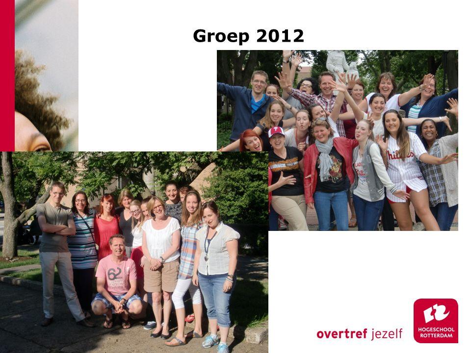Groep 2012