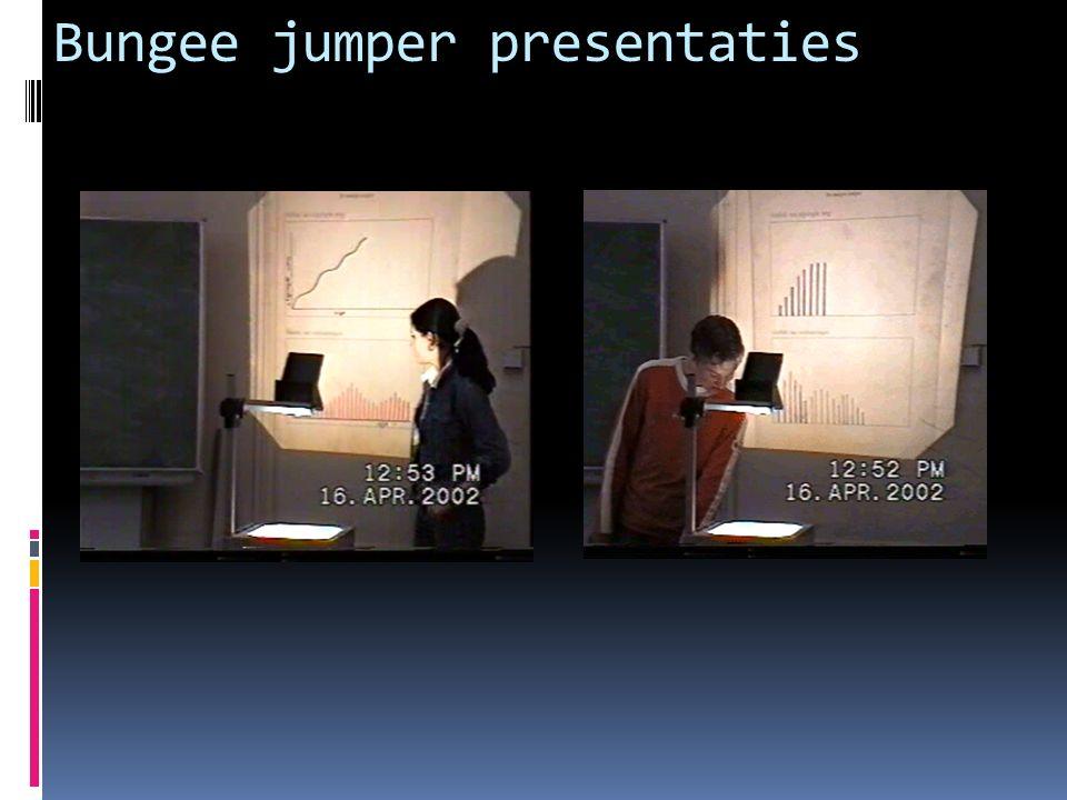 Bungee jumper presentaties
