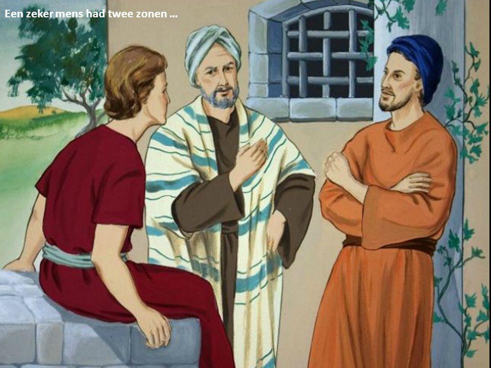 Een zeker mens had twee zonen …