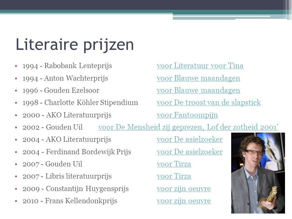 De Asielzoeker Eerste uitgave: ▫In 2003 bij Nijgh & Van Ditmar in Amsterdam Andere: ▫2005 Nijgh & Van Ditmar, Amsterdam ▫2006 AKO / Maarten Muntinga, Amsterdam ▫2009 De Morgen, Brussel ▫2010Nijgh & Van Ditmar, Amsterdam