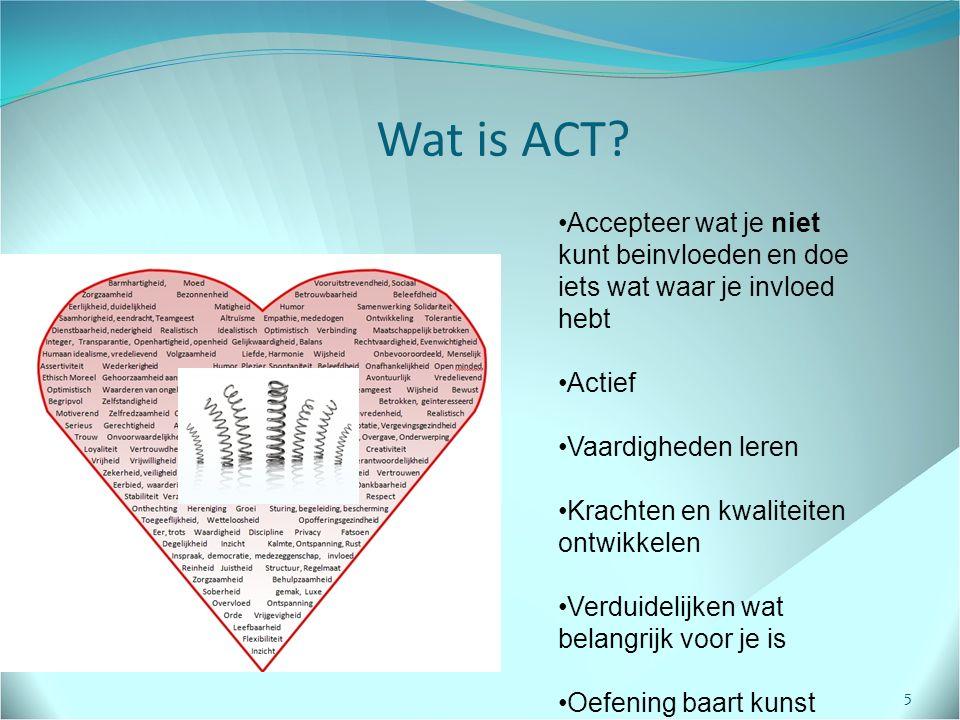Wat is ACT.