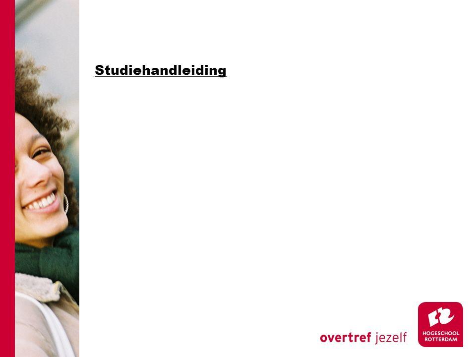 Studiehandleiding