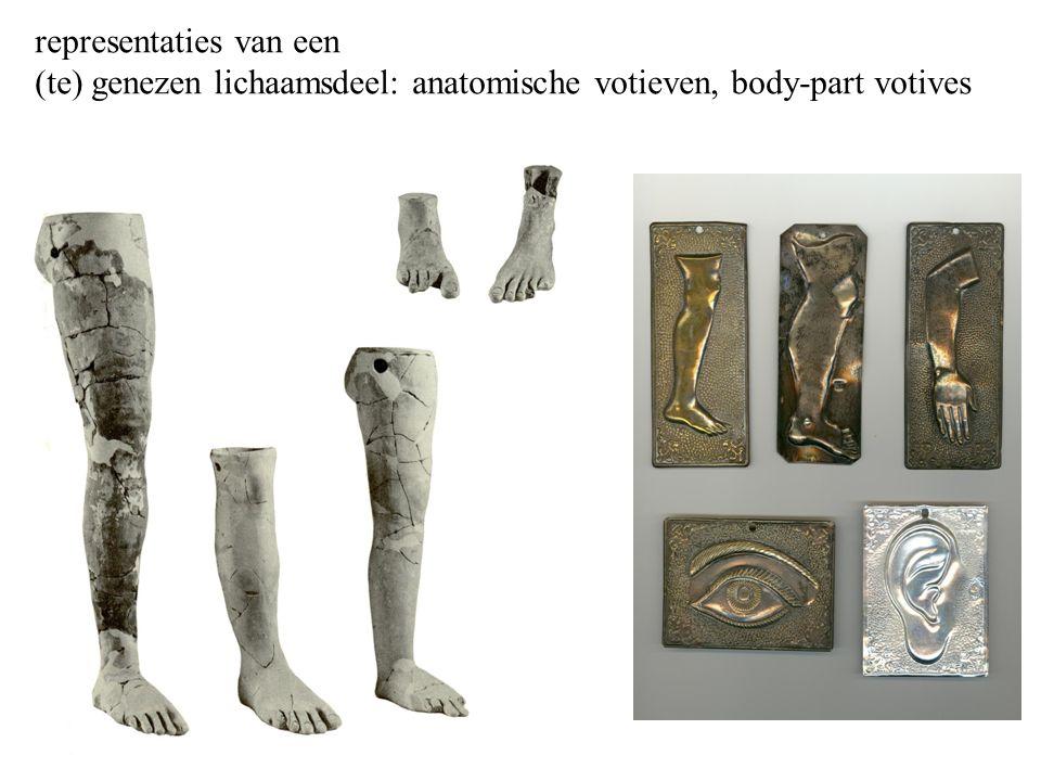 representaties van een (te) genezen lichaamsdeel: anatomische votieven, body-part votives