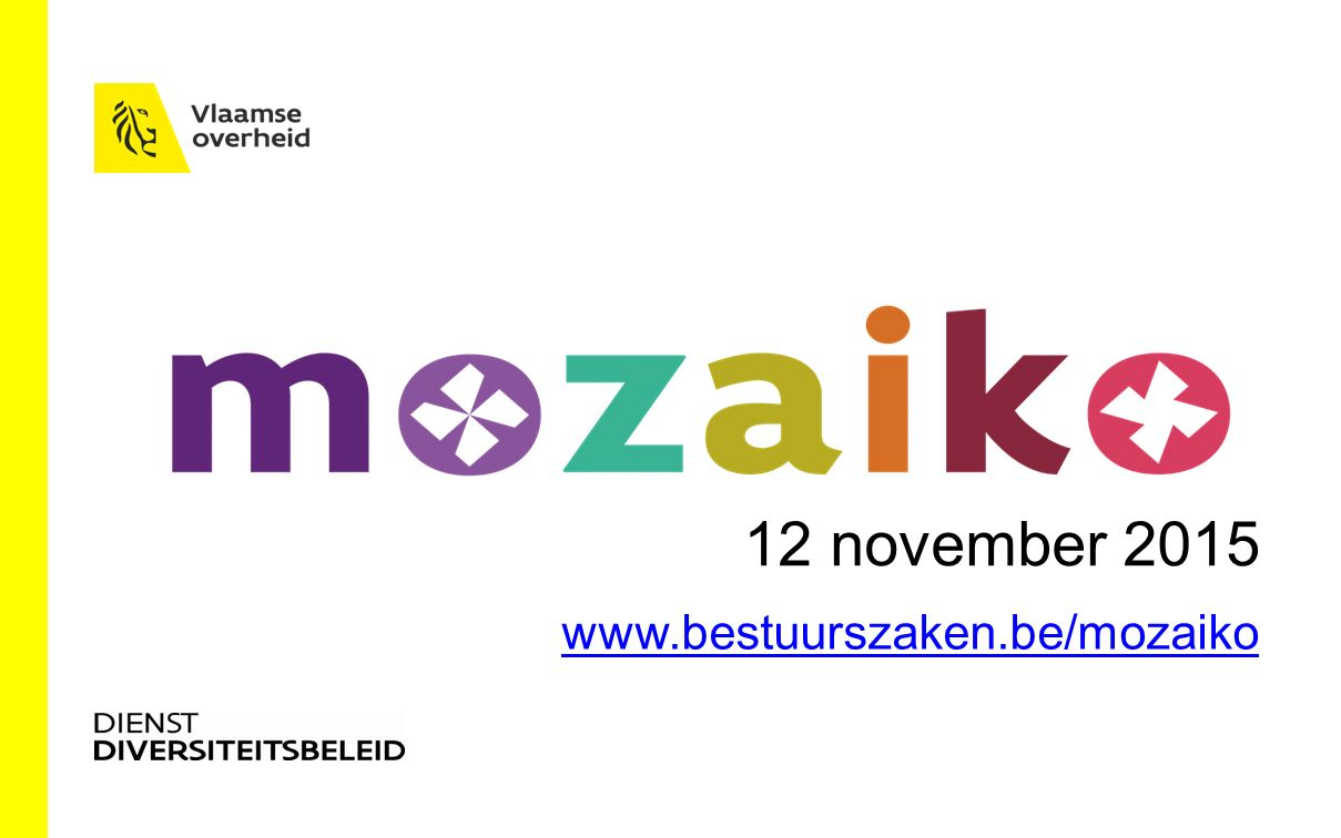 12 november 2015 www.bestuurszaken.be/mozaiko