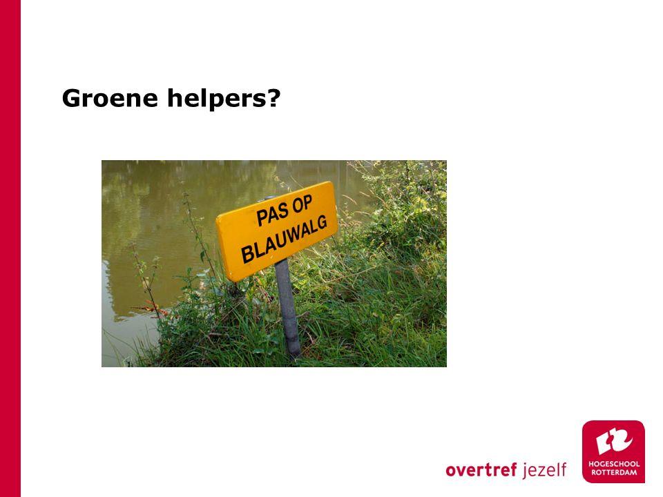 Groene helpers?