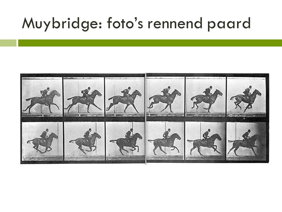 Muybridge: foto's rennend paard