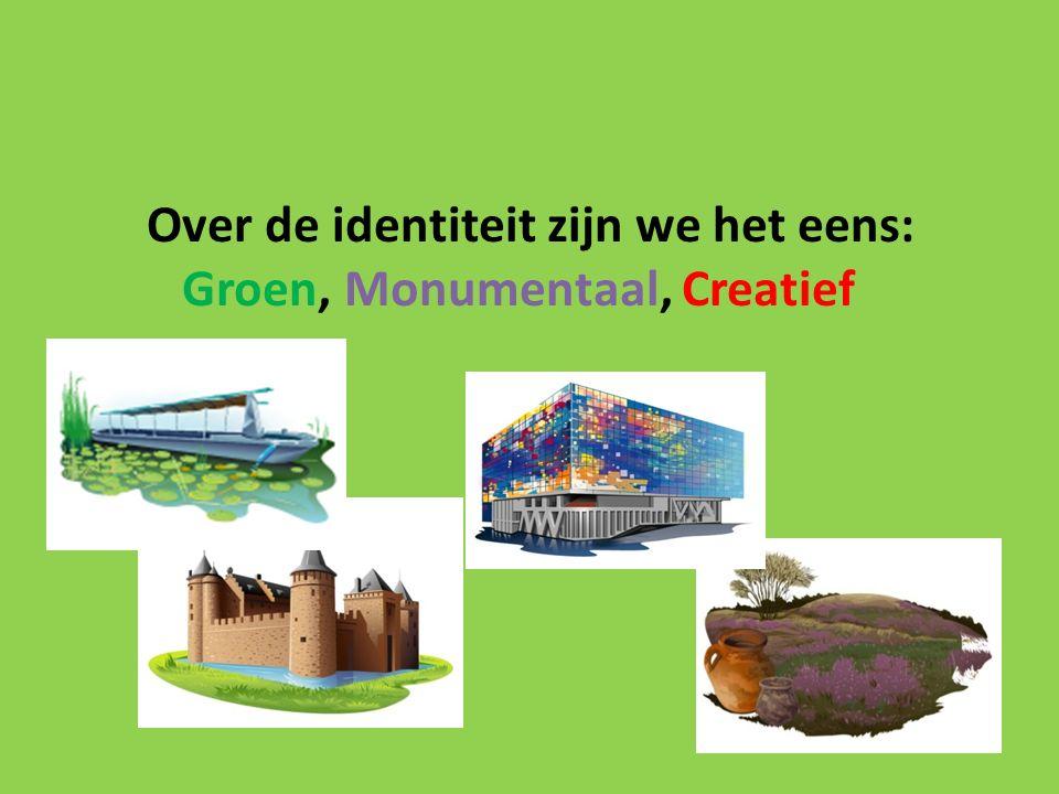 Over de identiteit zijn we het eens: Groen, Monumentaal, Creatief