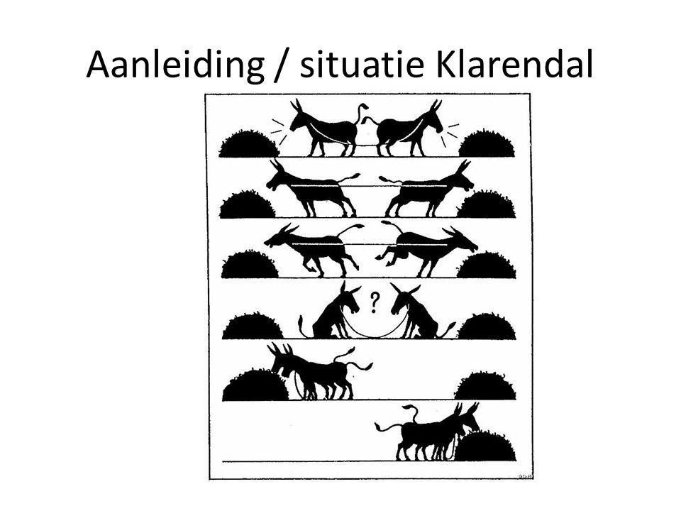 Aanleiding / situatie Klarendal